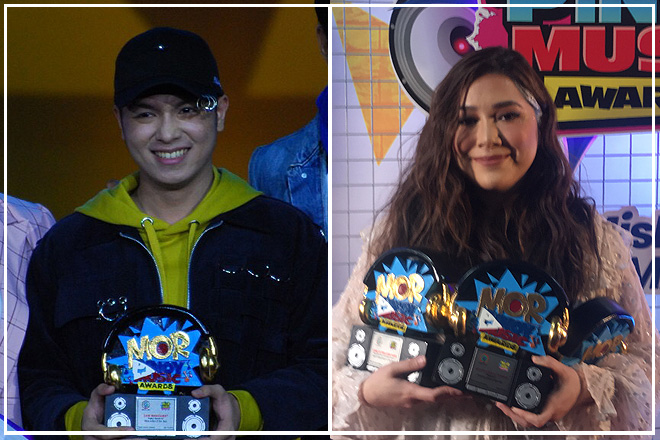 Moira, Sam and Juan Karlos reap major wins at MOR Pinoy Music Awards 2019