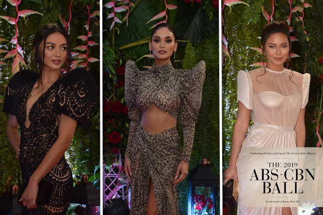 LOOK: Pinay Beauty Queens who slayed the red carpet at the ABS-CBN Ball 2019