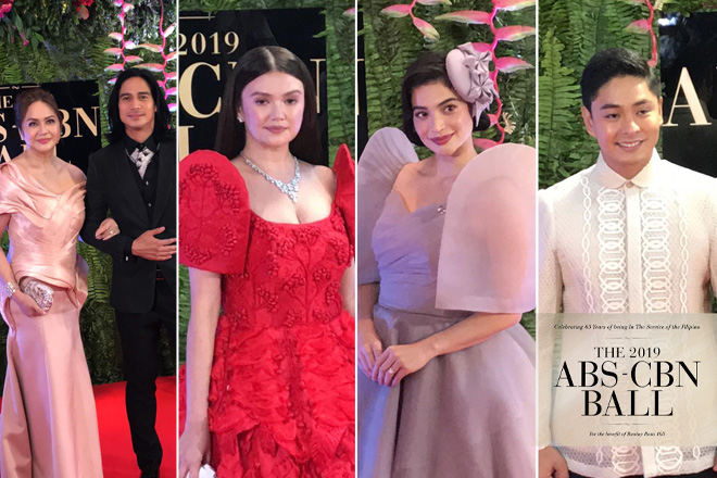 ABS-CBN BALL 2019: Kapamilya stars descend on the Red Carpet