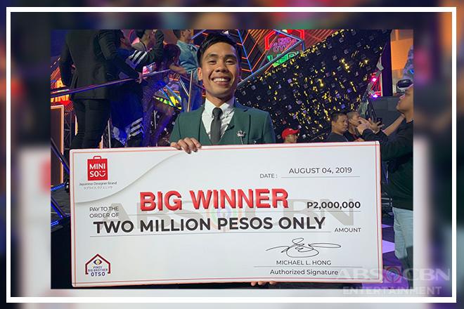 PBB Otso: Ultim8 Big Winner wins 2 Million Pesos from Miniso