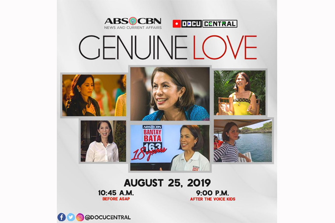 "ABS-CBN remembers Gina Lopez in the ""Genuine Love"" Docu this Sunday"