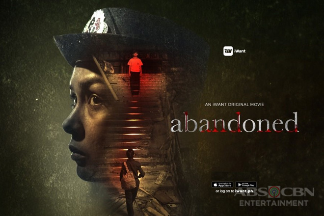 "Beauty and Seth play mother and son in iWant's psycho-horror movie ""Abandoned"""