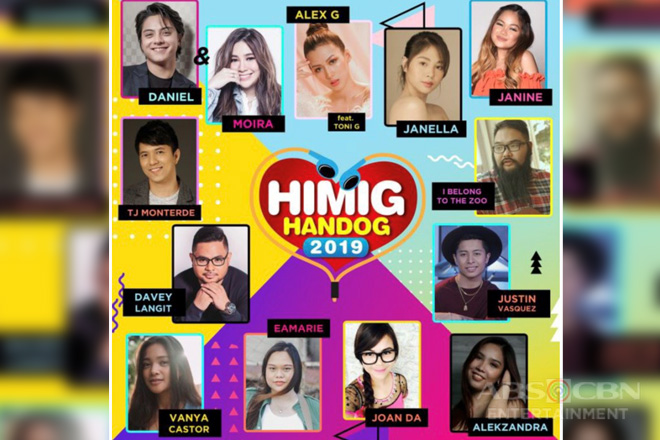 Himig Handog 2019 Unveils Top 12 songs; Introduces a Unique set of Interpreters