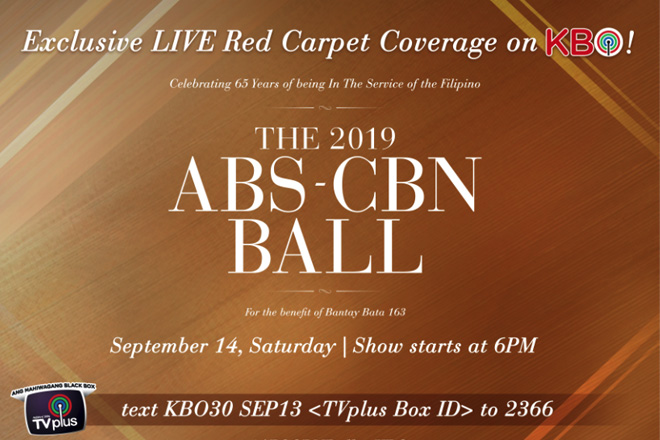 ABS-CBN Ball 2019 airs live on KBO