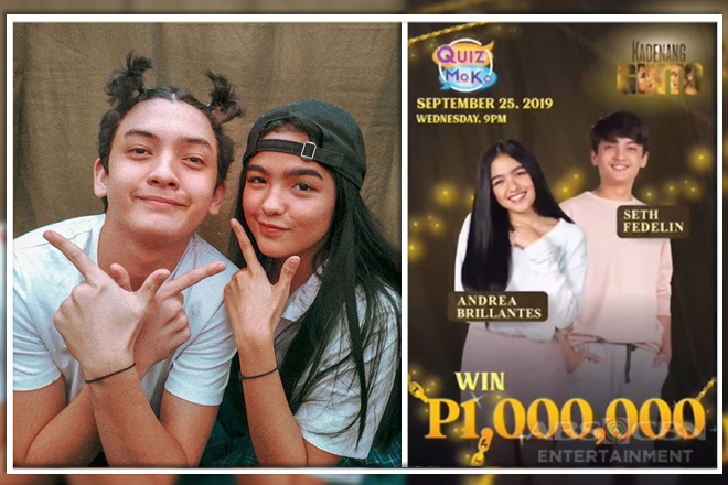 Andrea Brillantes and Seth Fedelin to give away P1 million for Quiz Mo Ko trivia geeks!