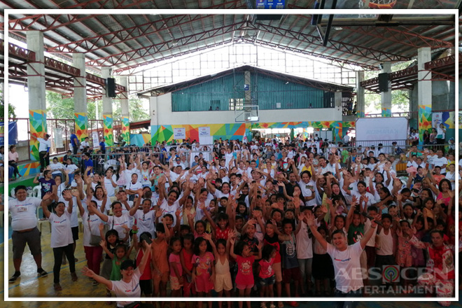"""Kapamilya Love Weekend"" serves more than 2,000 in public service fiesta in Cebu"