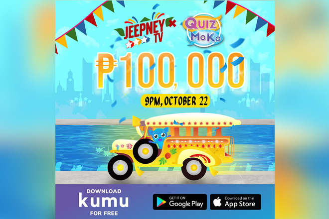 Jeepney TV Celebrates 7 Years With P100,000 Trivia Quiz Prize via KUMU