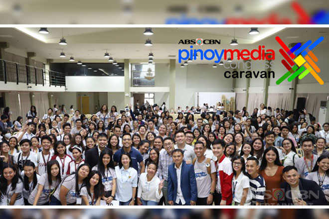 Cebuano students learn from Kapamilya media experts in ABS-CBN's Pinoy Media Congress Caravan