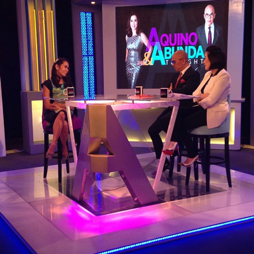 PHOTOS: Pokwang on Aquino & Abunda Tonight