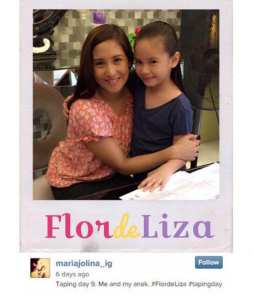 Jolina's Flordeliza taping photo diary