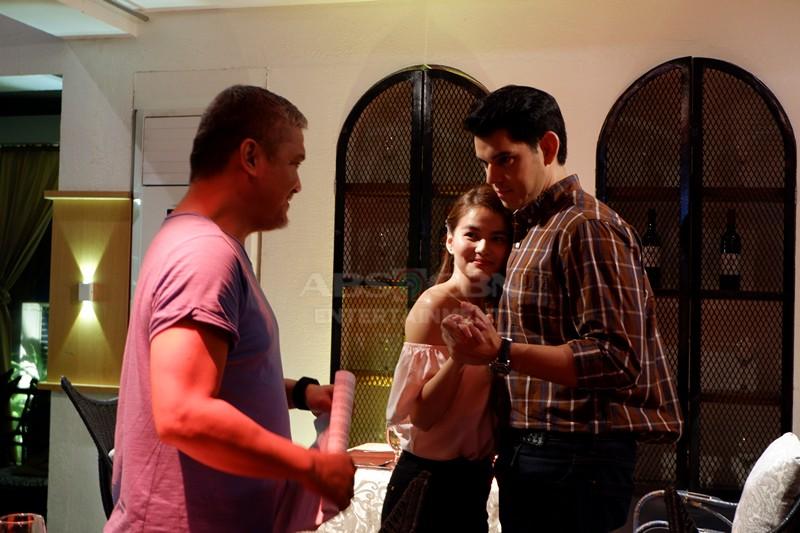 BEHIND-THE-SCENES: Paghahanda nina Richard Gutierrez at Elisse Joson sa #MMKHandsomeBoss